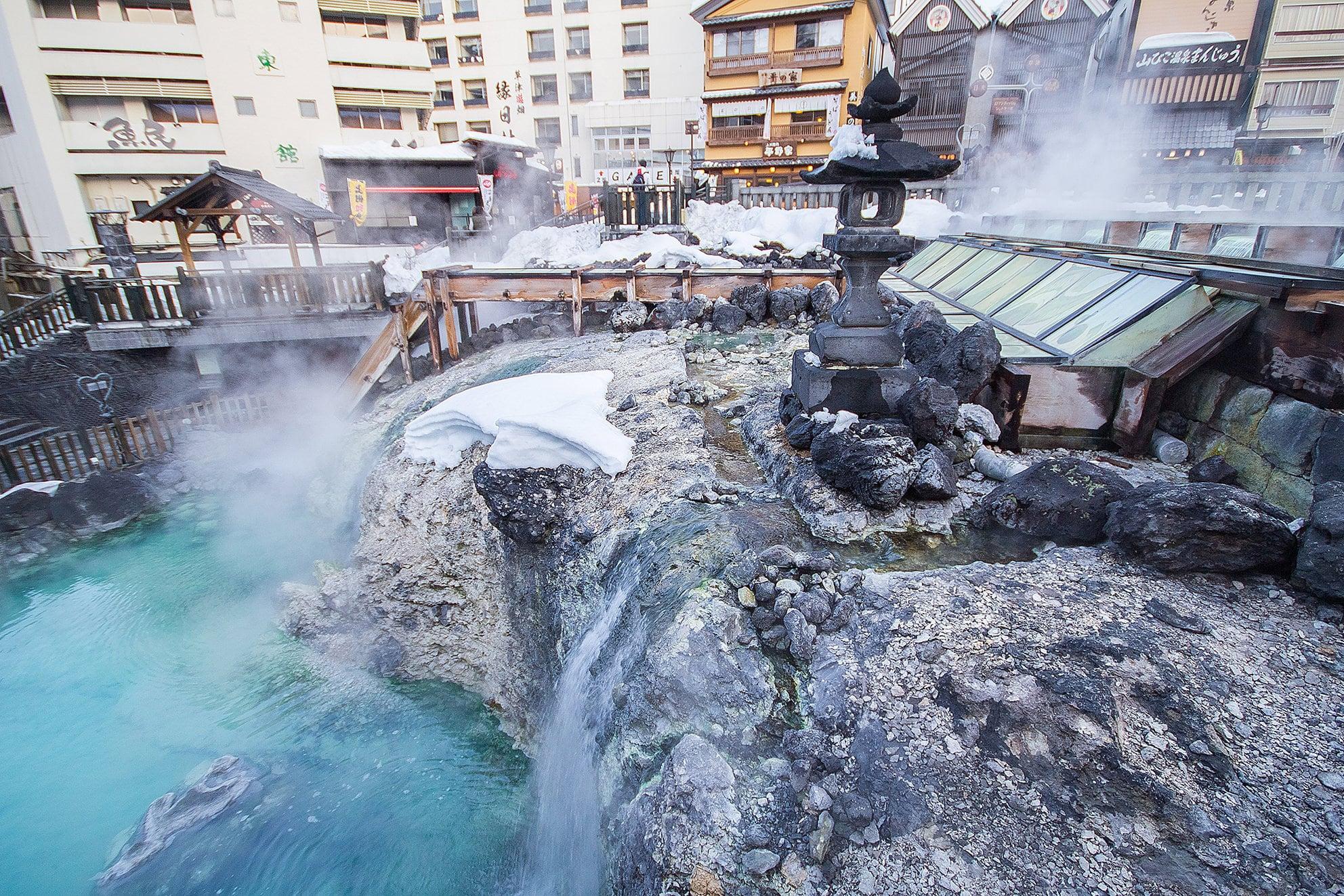Kusatsu Onsen เที่ยวออนเซ็นเก่าแก่ที่มีชื่อเสียงที่สุดในญี่ปุ่น